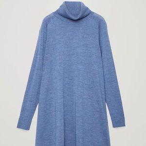NWOT COS Oversized Wool Sweater Dress